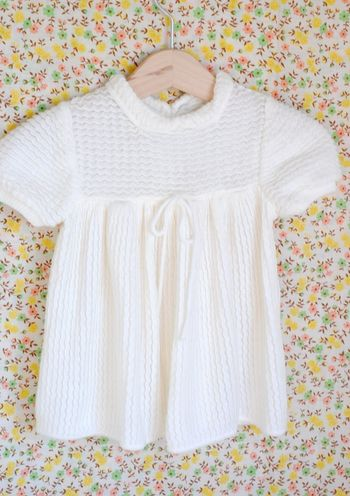 Knitbabydress