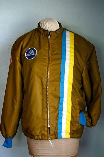 Nylon cafe jacket