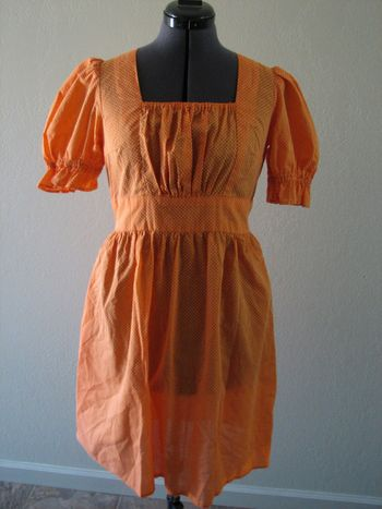 Orangedresss